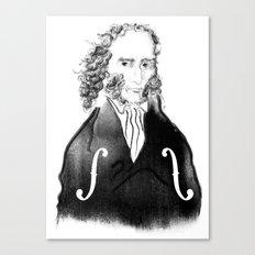 Niccolo Paganini Canvas Print