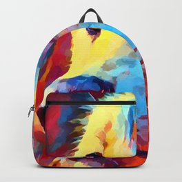 Wolf Portrait 3 Backpack