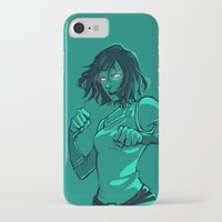 the legend of korra iPhone & iPod Cases featuring Korra by Gretlusky