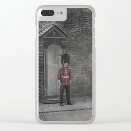 Queen's Guard Clear iPhone Case
