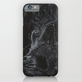 Wolf - The Uneasy Chill iPhone Case