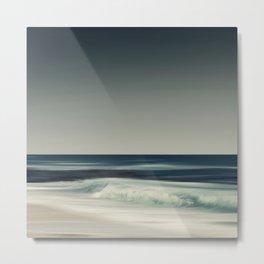 Cristal Surf Metal Print
