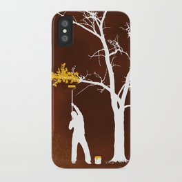 Relief Painting iPhone Case