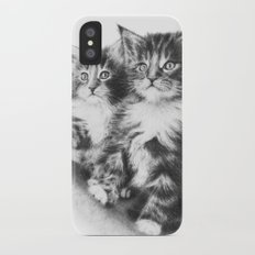 Double Dose of Cuteness Slim Case iPhone X