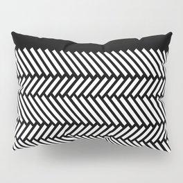 Herringbone Boarder Pillow Sham