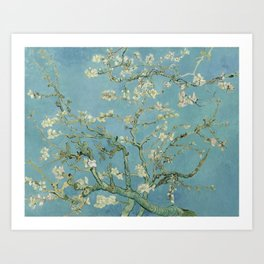 Vincent van Gogh - Almond Blossoms 1890 Art Print