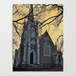 Carngham Uniting Church Poster
