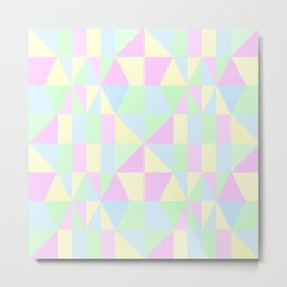 SWEET PIE PASTEL PATTERN Metal Print