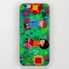 Pixel Garden iPhone & iPod Skin