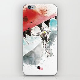 Climbing Supper Star iPhone Skin