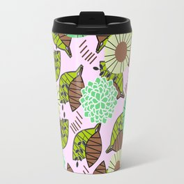 Atypical leaves and flowers Travel Mug