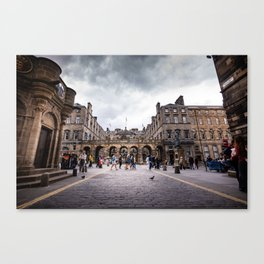 Royal Mile in Edinburgh, Scotland Canvas Print