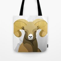 ram Tote Bags featuring Ram by Porto881