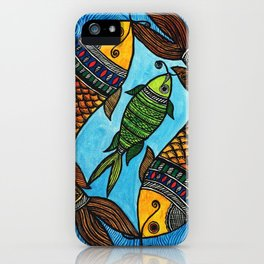 3 Fishes iPhone Case