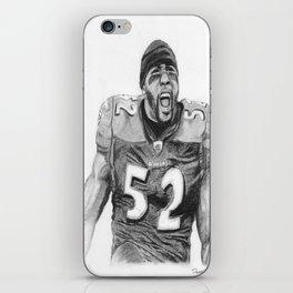 Ray Lewis iPhone Skin