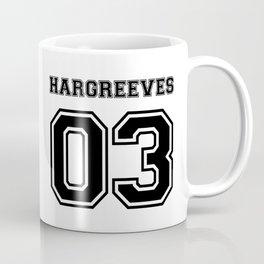 Team Umbrella Academy, number 3. (In black) Coffee Mug