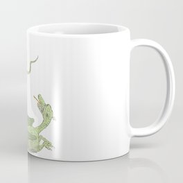Defeating the Dragon Coffee Mug