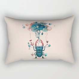 funny beetle Rectangular Pillow