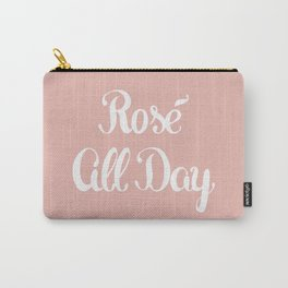 Rosé All Day Carry-All Pouch