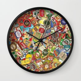 Another Beer Labels Wall Clock