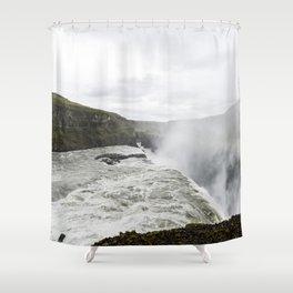 Gullfoss Shower Curtain