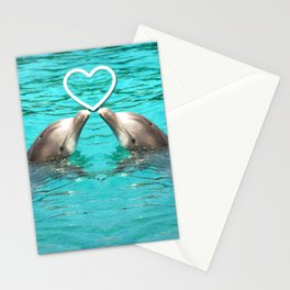 Dolphin Love 2 Stationery Cards