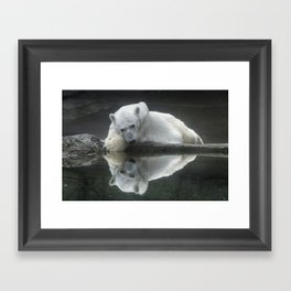 Pensive Framed Art Print