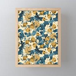 80's summer garden Framed Mini Art Print