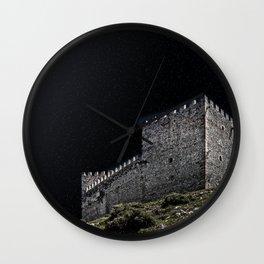 Spanish Castle Wall Clock