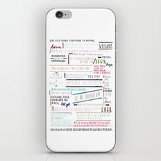 Thoughts of the Day iPhone & iPod Skin