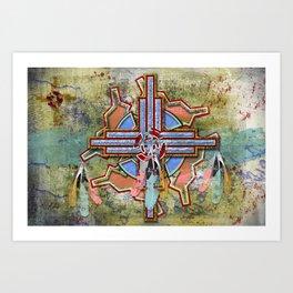 Digital Indian 13 Art Print