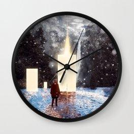 Sky Doors Wall Clock