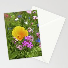 wildflowers meadow II Stationery Cards