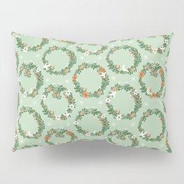 Christmas Wreath Pillow Sham