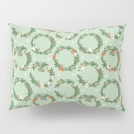 Christmas Wreath Pillow Sham