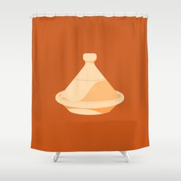 MADE IN MOROCCO #03-THE COOKING POT Shower Curtain