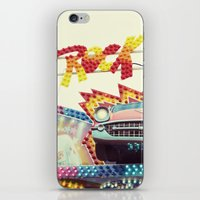 rock and roll iPhone & iPod Skins featuring Rock & Roll by Libertad Leal Photography