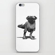 Pugussaurus Rex iPhone & iPod Skin