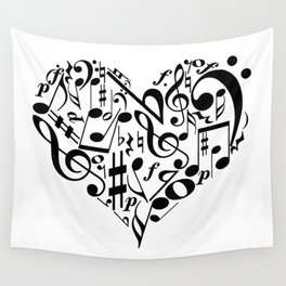Music love Wall Tapestry