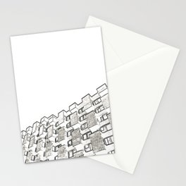 Architecture: brutalism Stationery Cards