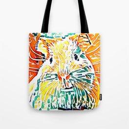 Hot painted Guinea Pig Tote Bag