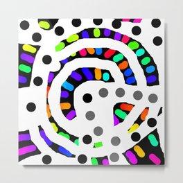 Circular 26 Metal Print
