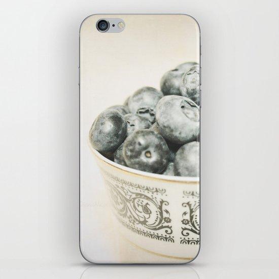 Blueberry Bowl iPhone & iPod Skin