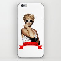 jessica lange iPhone & iPod Skins featuring Carly Marshall- Jessica Lange by BeeJL