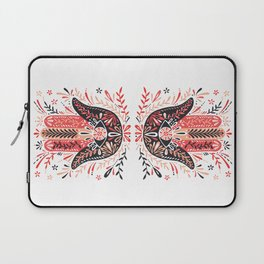 Hamsa Hand – Red & Black Palette Laptop Sleeve