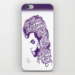 When Doves Cry iPhone Skin