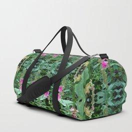Wild Flower Pattern Duffle Bag