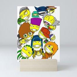 All Smilez Mini Art Print