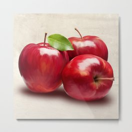 Remo Barbieri - Apples Metal Print