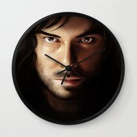 kili Wall Clocks featuring Kili by Lidivien